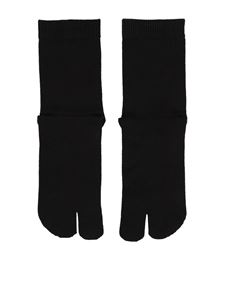 Maison Margiela - Tabi socks in black