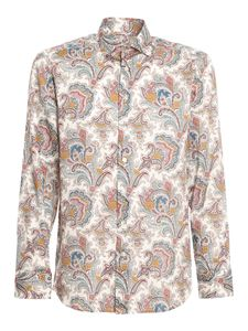 Etro - Paisly cotton shirt in multicolor