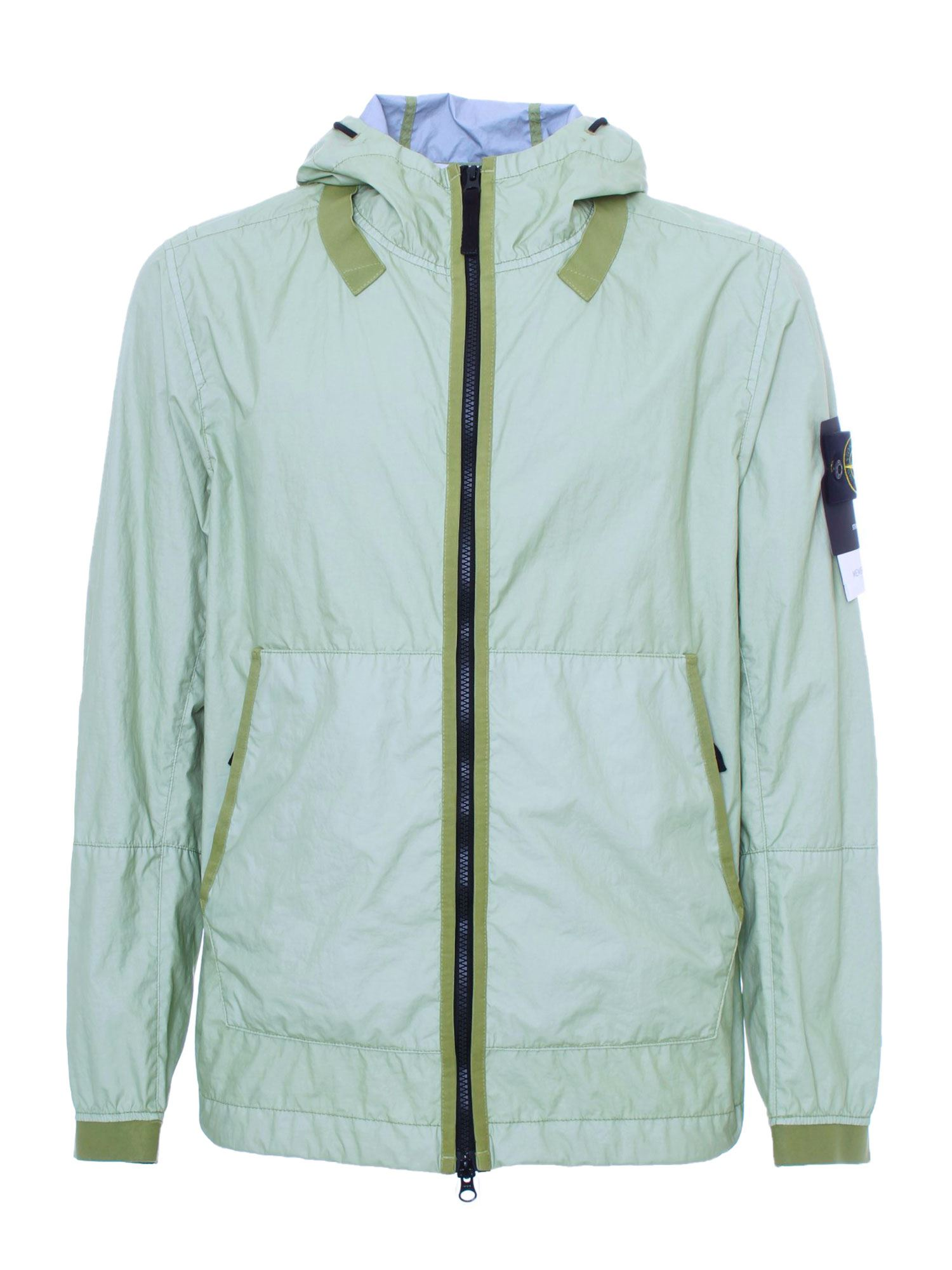 Stone Island 3L TC MEMBRANE JACKET IN GREEN