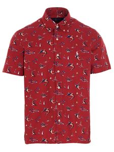 POLO Ralph Lauren - All over print shirt in red