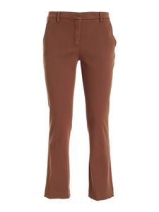 True Royal - Ross chino pants in brown