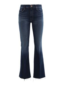 Mother - The Weekender Fray jeans in blue