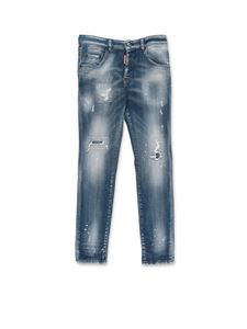 Dsquared2 - Five-pocket jeans in blue