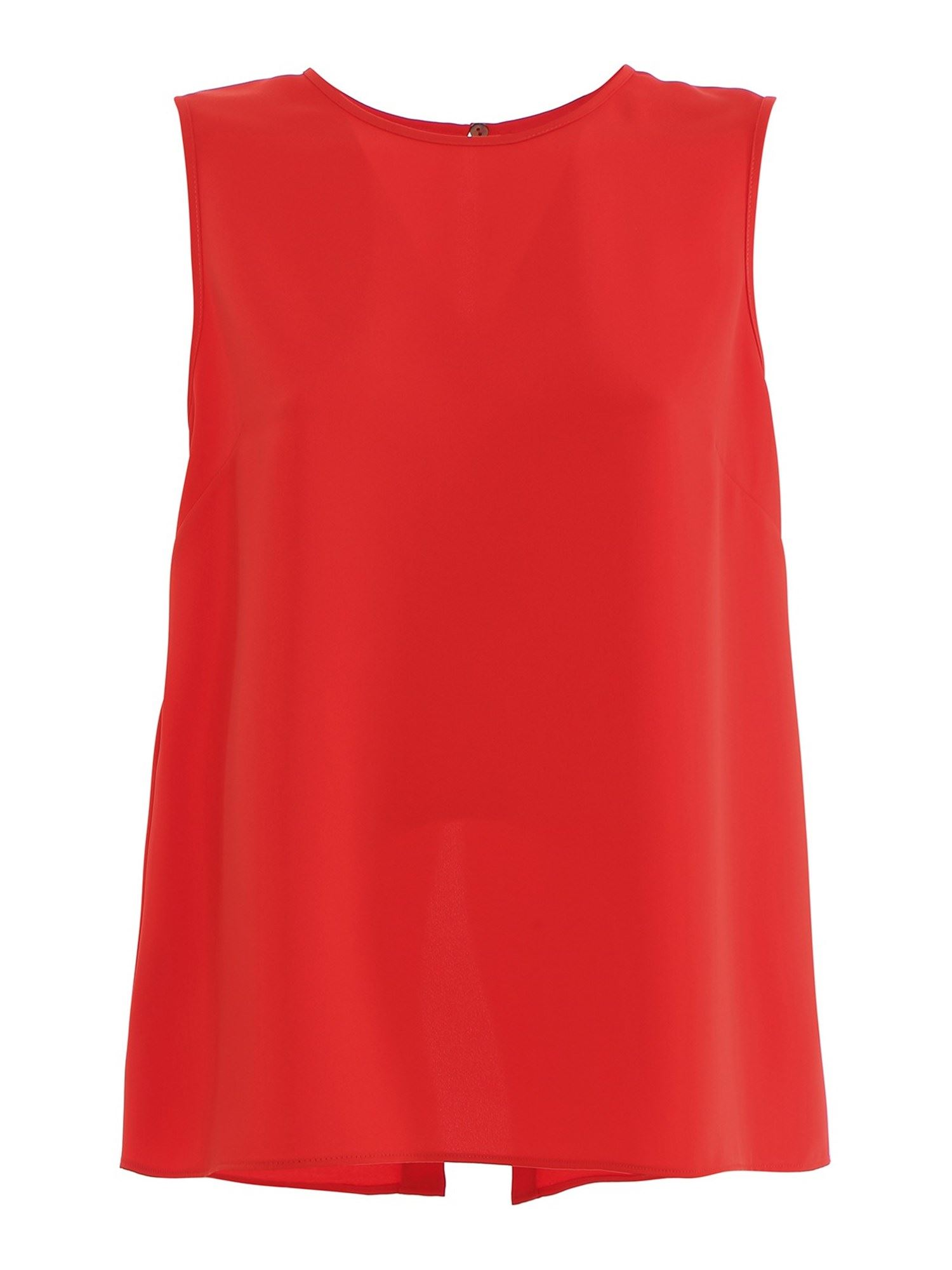 P.a.r.o.s.h. Cady Top In Red