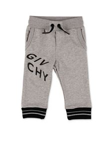 Givenchy - Refracted logo pants in gray