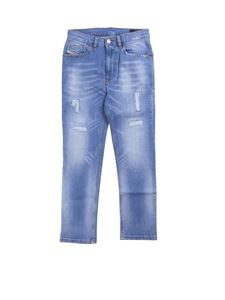 Diesel - 5-pocket jeans in light blue