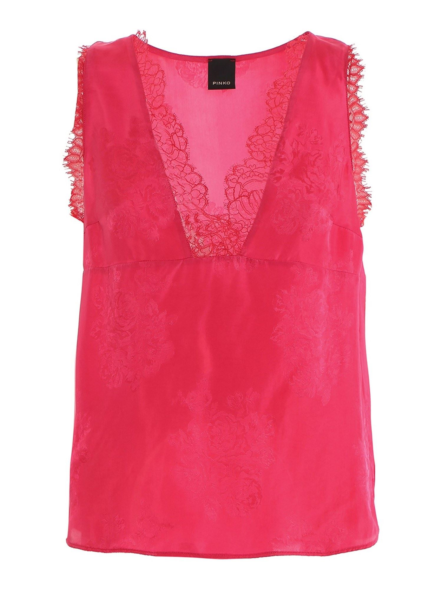 Pinko PINKO ESAGERATO TOP IN PINK
