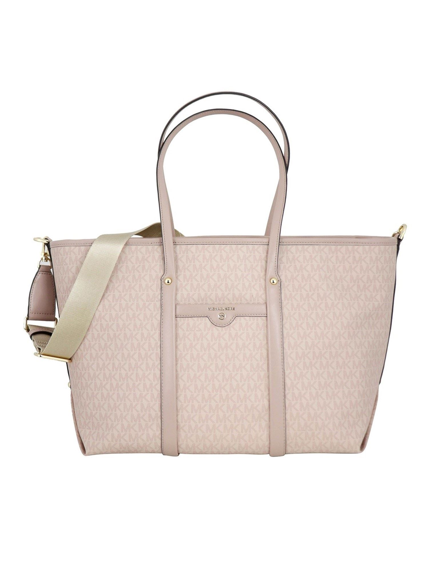 Michael Kors BECK LARGE TOTE BAG IN PINK