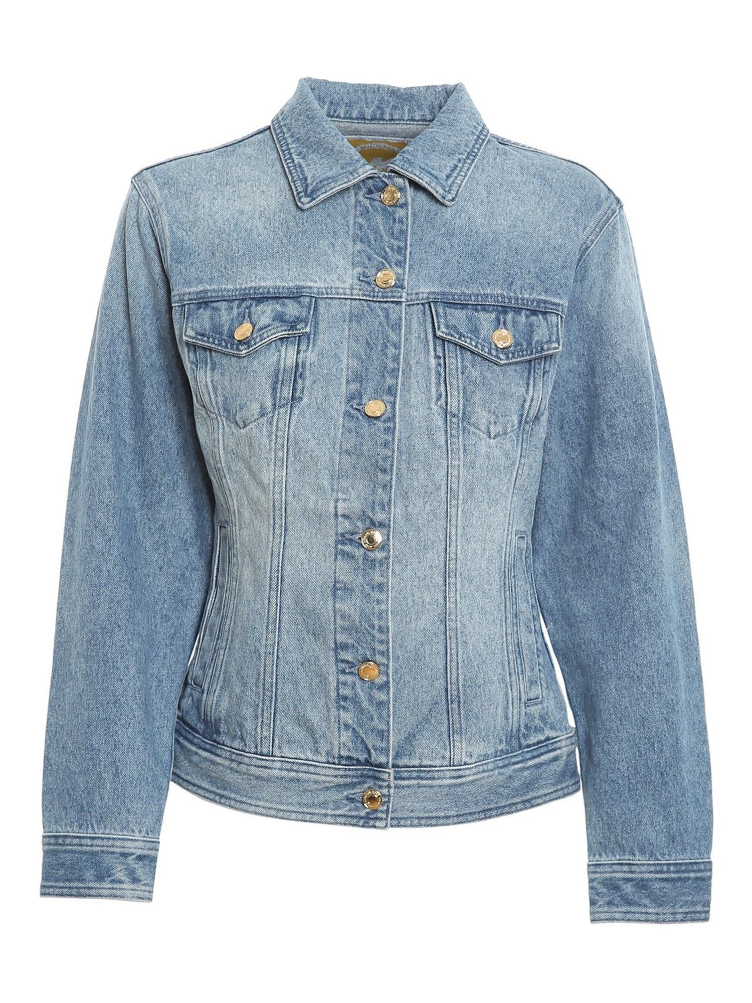Michael Kors DENIM JACKET IN LIGHT BLUE