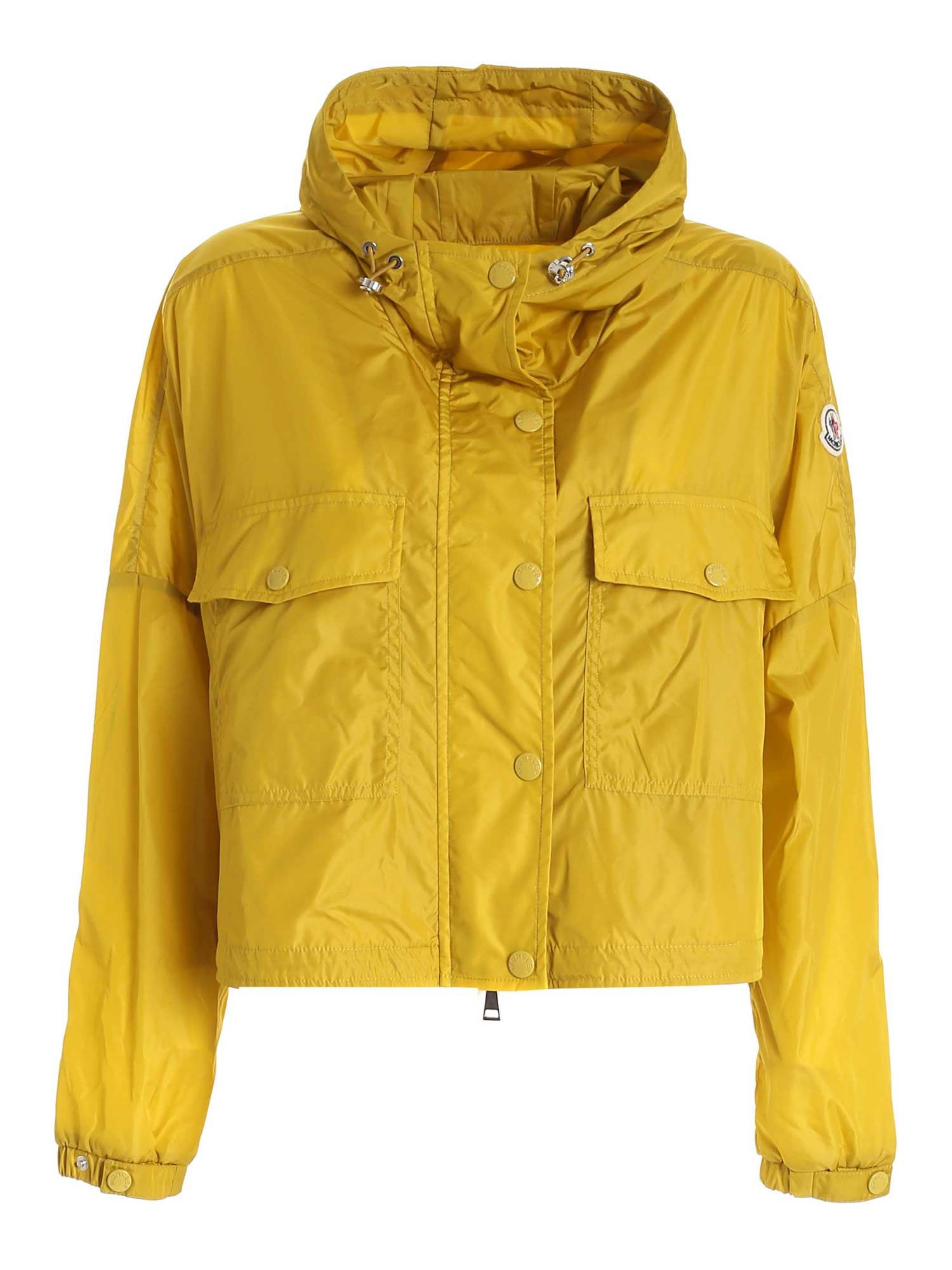 Moncler PRIMAGIEDI JACKET IN MUSTARD COLOR