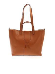Hogan - Shopper grande marrone