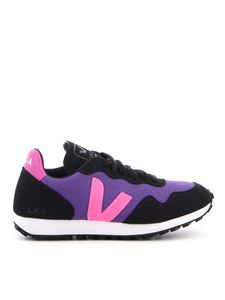 Veja - Sdu Rec low-top mesh sneakers in purple