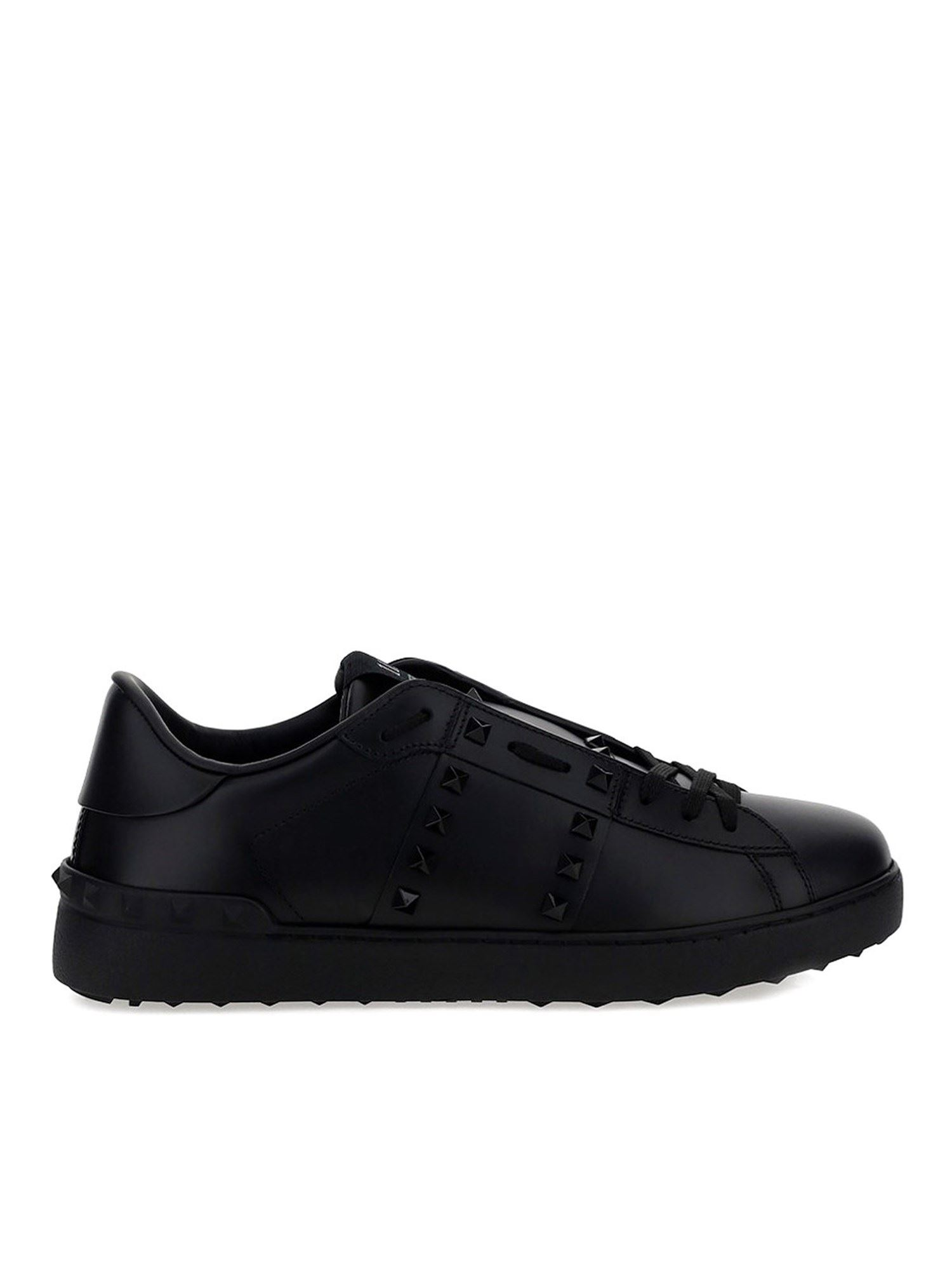 Valentino Sneakers OPEN SNEAKERS IN BLACK