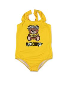 Moschino Kids - Daisy Teddy Bear swimwear in yellow