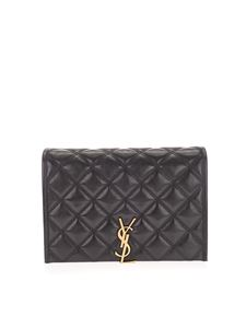 Saint Laurent - Borsa Becky piccola nera