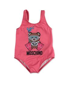 Moschino Kids - Swimmer Teddy Bear swimwear in pink