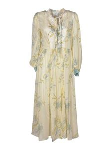 Forte Forte - Floral printed dress in cream color
