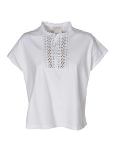 Forte Forte - Jersey top in white
