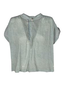 Forte Forte - Printed top in light blue