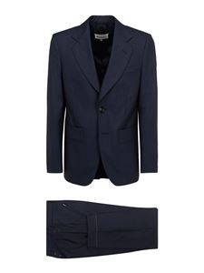 Maison Margiela - Wool suit in blue