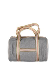 Chloé - Cotton handbag in gray melange