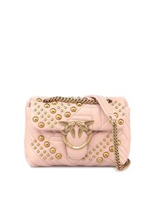 Pinko - Borsa Love Mini Puff rosa