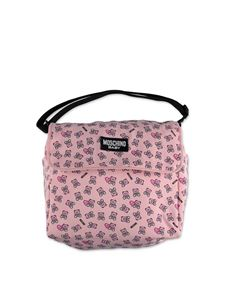 Moschino Kids - Lovely Teddy Bear mom bag in pink