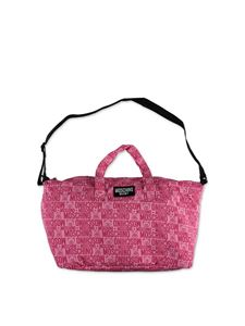Moschino Kids - Mom bag logo in fuchsia