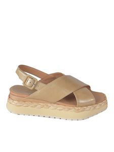 Paloma Barceló - Anambei sandals in camel color