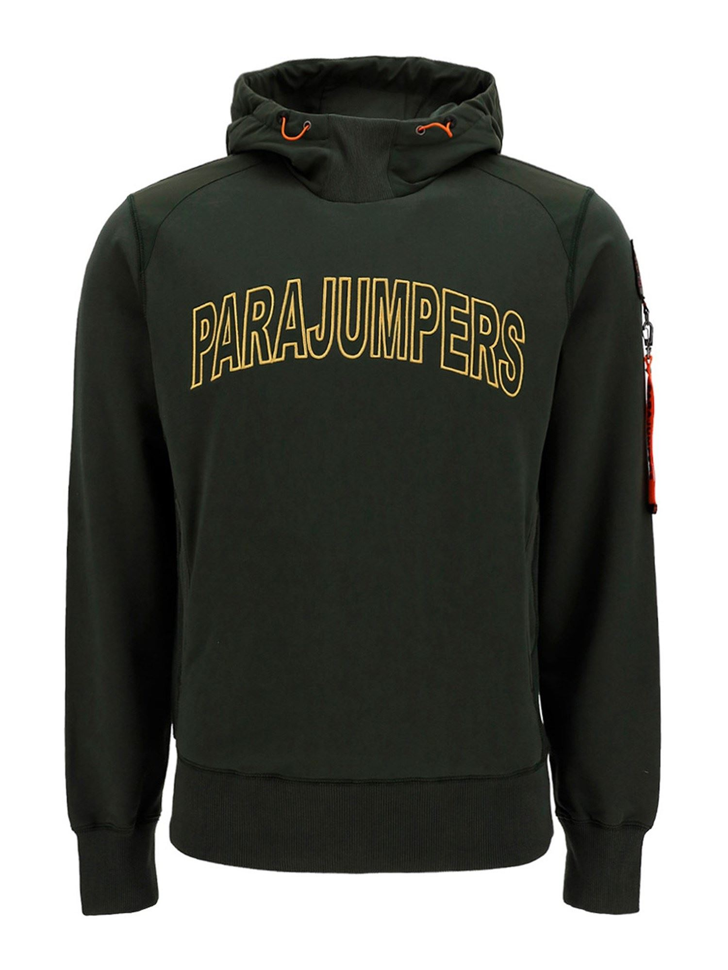 Parajumpers Cottons ELECTRA COTTON HOODIE IN GREEN