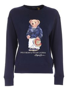POLO Ralph Lauren - Teddy print sweatshirt in blue