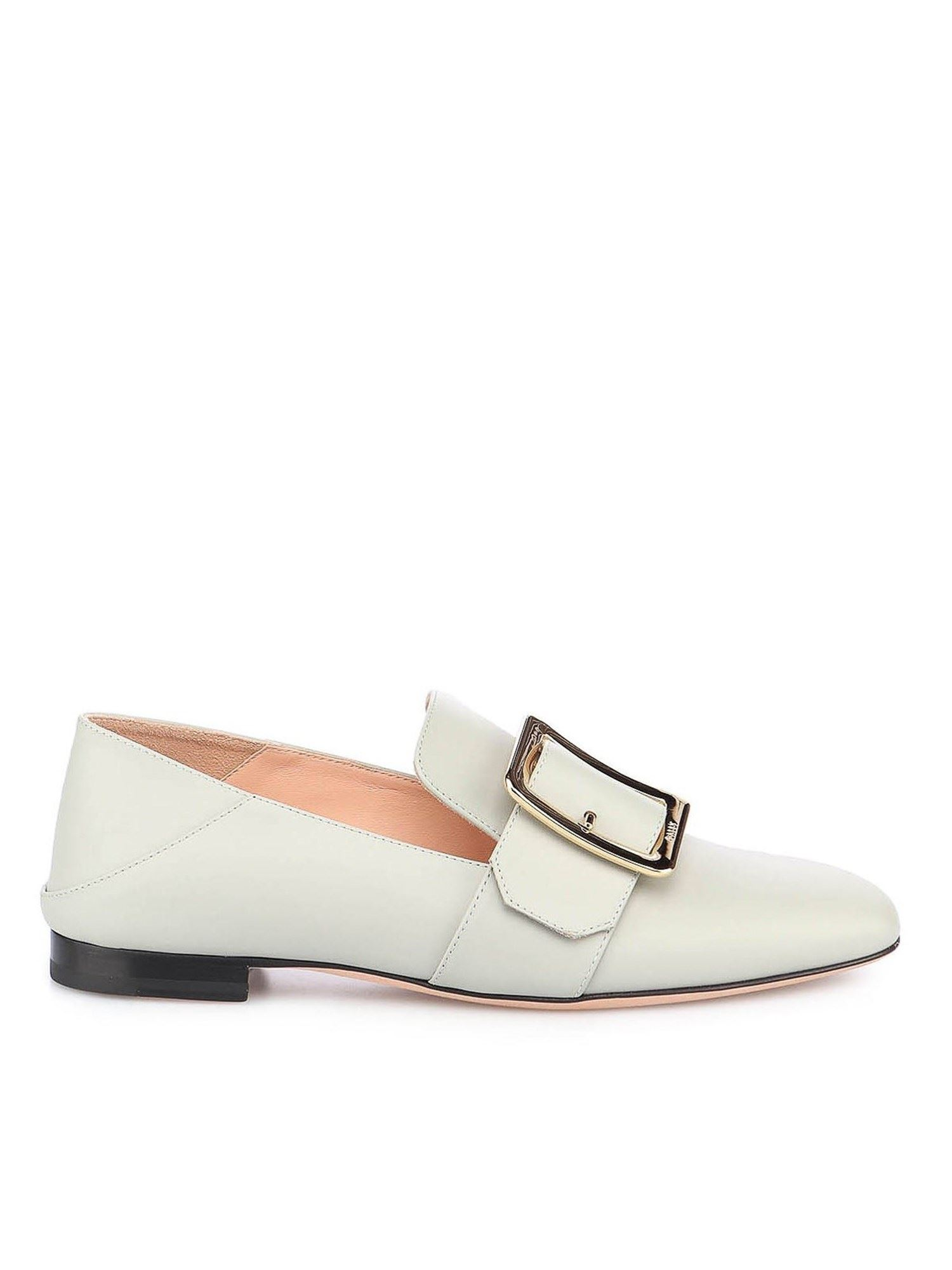 Bally JANELLE LOAFERS IN LIGHT BLUE