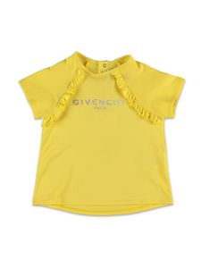 Givenchy - T-shirt logo Givenchy Kids gialla