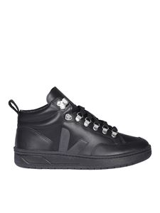 Veja - Roraima high-top sneakers in black