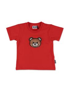 Moschino Kids - T-shirt Teddy Bear rossa