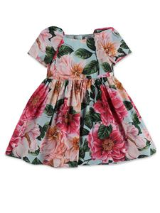 Dolce & Gabbana Jr - Coulottes floral dress in multicolor