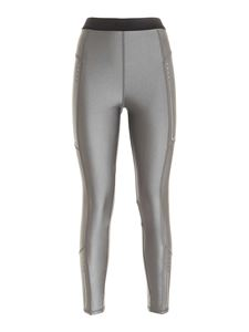 Moncler - Leggings stretch grigio