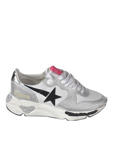Golden Goose - Sneakers Running Sole color argento