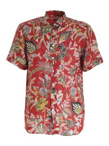 Etro - Short sleeves shirt in red