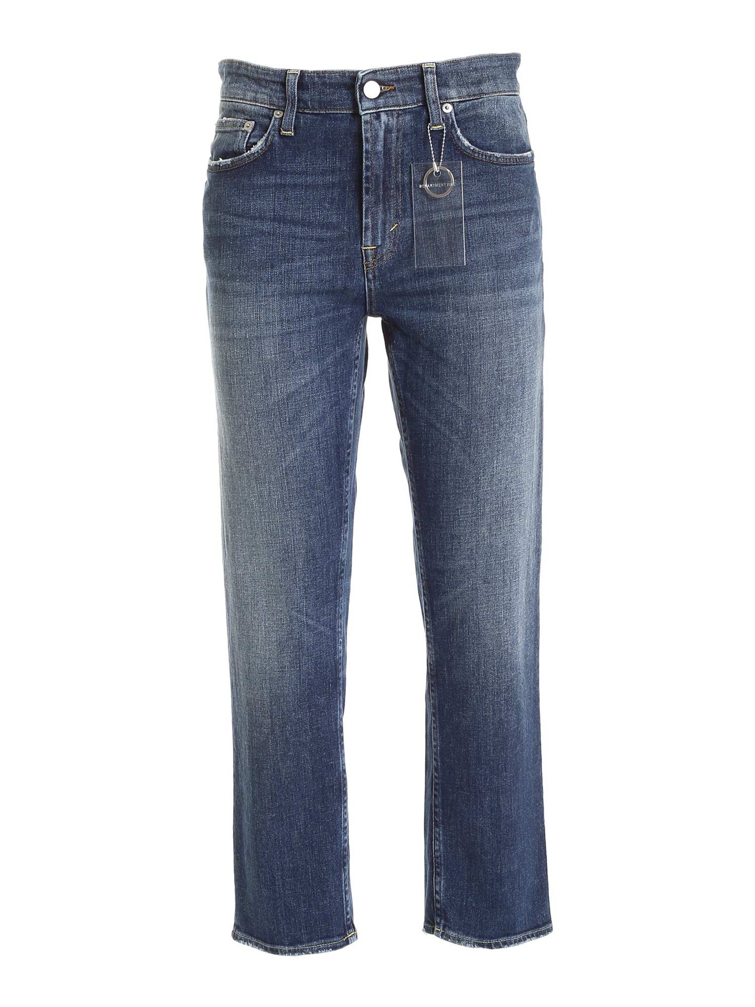 Department 5 TAMA FADED JEANS IN BLUE