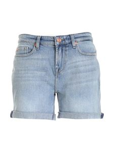 7 For All Mankind - Faded shorts in light blue