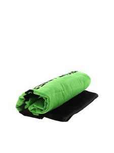 Diesel - Harty beach towel in black and green