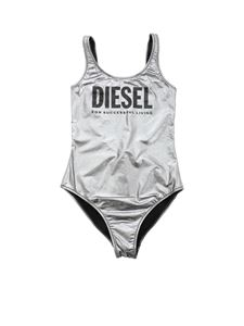 Diesel - Miami one-piece swimsuit in silver color