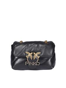 Pinko - Borsa Love Puff Jewel nera