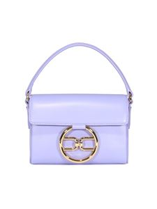 Elisabetta Franchi - Synthetic leather micro bag in purple