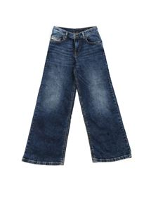 Diesel - Widee-J jeans in blue