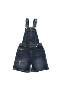 Diesel - Jedixy dungarees in blue