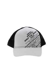 Diesel - Cappello FMesh bianco