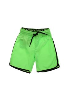 Diesel - Mbxsand swim short in fluo green