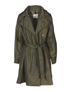 Moncler - Meboula padded trench coat in green